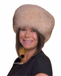 Ladies' New Yorker Fur Hat - Bill Worb Furs Inc.