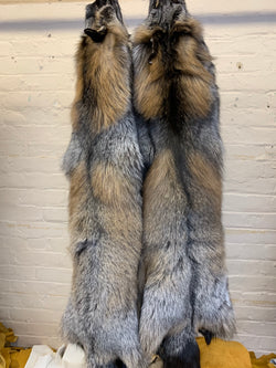 ranch cross fox fur pelts