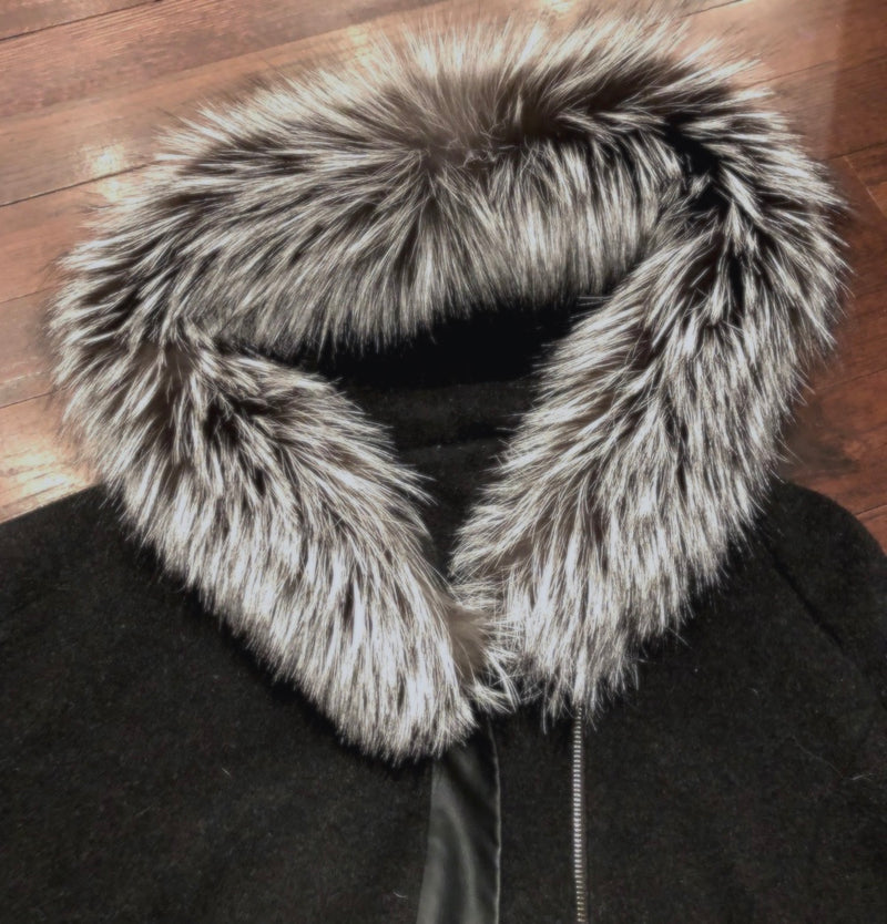 Silver Fox Hood Ruffs - #1 Quality - Bill Worb Furs Inc.