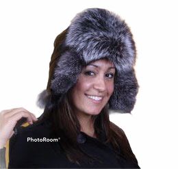 Ladies Fur Aviator Hat