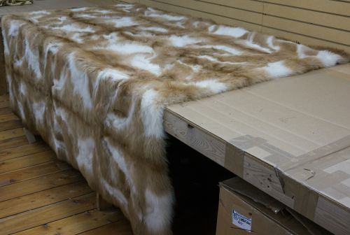 Llama Fur Rug/Fur Throw
