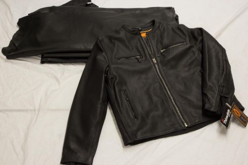 Motorcycle Leather Jacket - Bill Worb Furs Inc.