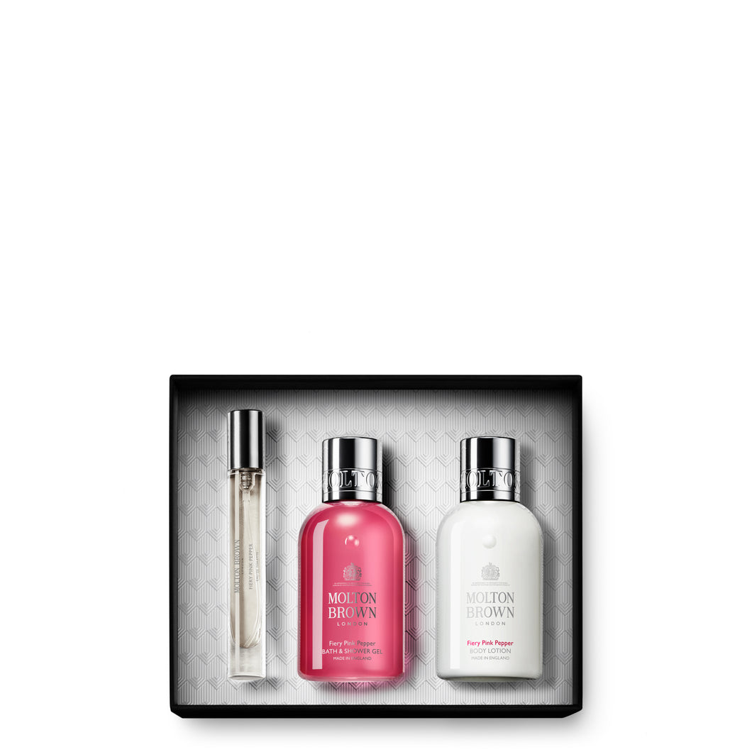 MOLTON BROWN Fiery Pink Pepper Fragrance Gift Set