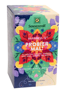 SONNENTOR Happiness is Probier Mal! Tee Btl. à 18