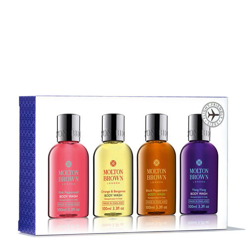 DrogerieMarkt24 - DrogerieMarkt24 MOLTON BROWN Bestsellers Travel Body Wash Set - Burgerstein