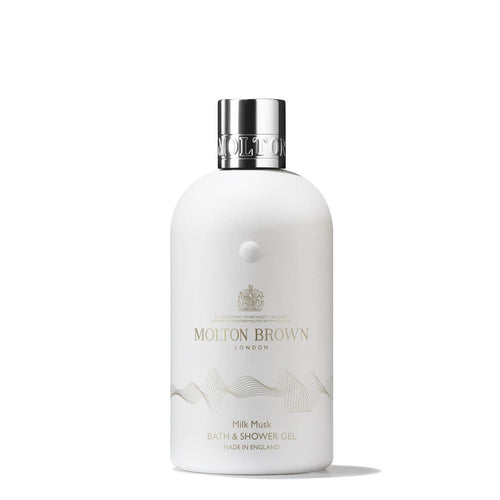 DrogerieMarkt24 - DrogerieMarkt24 MOLTON BROWN Milk Musk Bath & Shower Gel Body Wash - Burgerstein
