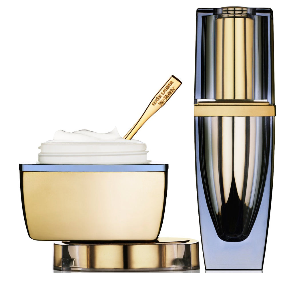 DrogerieMarkt24 - DrogerieMarkt24 Estée Lauder Recreation Face Creme & Night Serum 50/15ml - Burgerstein