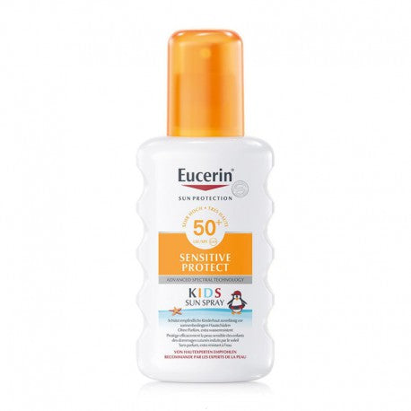 DrogerieMarkt24 - DrogerieMarkt24 EUCERIN SUN Sensitive Protect Kids Sun Spray LSF50+ 200 ml - Burgerstein