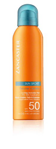 LANCASTER Sun Sport Cooling Invisible Mist Wet Skin Application SPF 50 (200 ml)