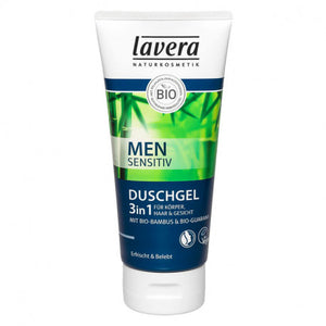 DrogerieMarkt24 - DrogerieMarkt24 LAVERA 3in1 Duschgel Men sensitiv Tube 200 ml - Burgerstein