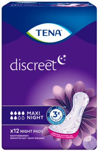 TENA Discreet Maxi Night (12 Stk.)