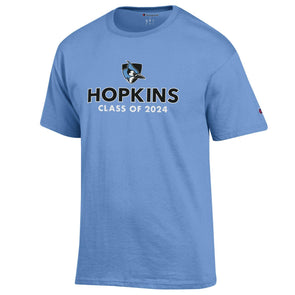 "Champion® Hopkins ""Class of 2024"" Tee"