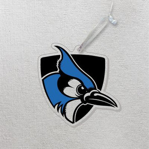 Shielded Blue Jay Ornament