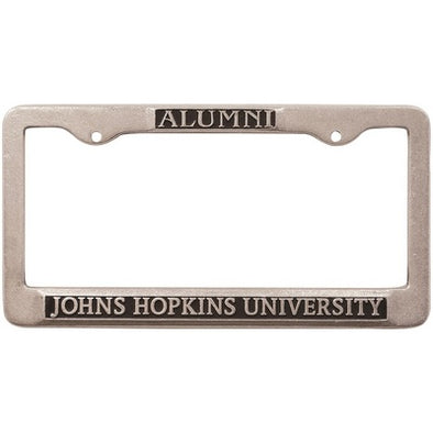 Johns Hopkins Alumni License Plate Frame