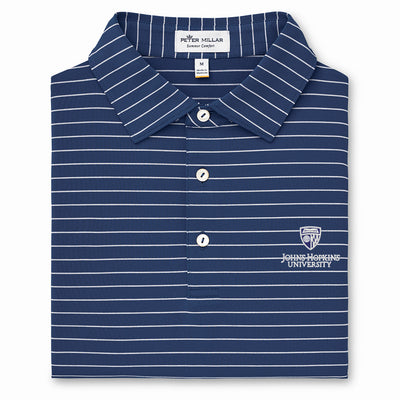 "Peter Millar ""Trophy"" Stripe Stretch Jersey Polo"