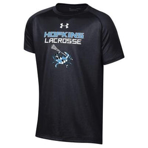 Under Armour Youth ''Lacrosse Crab'' Short Sleeve Tech Tee