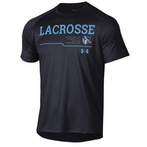 Under Armour Men's ''Homewood Field'' Lacrosse Short Sleeve Tech Tee Black