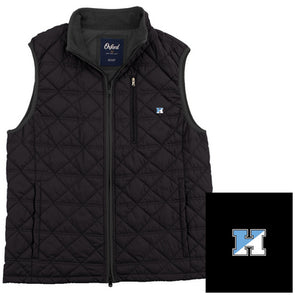 "Oxford ""Ottley"" Quilted Full Zip Vest"