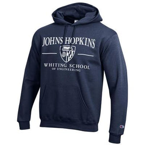"Champion ""Whiting School of Engineering"" Hooded Sweatshirt"