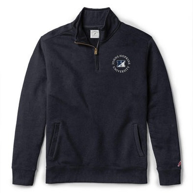 League Stadium Quarter Zip Navy