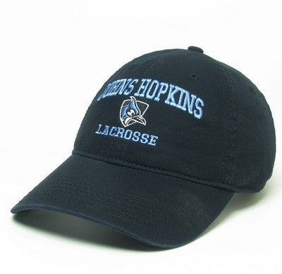 Johns Hopkins Shielded Blue Jay Lacrosse Hat