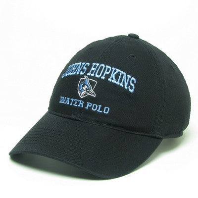 Johns Hopkins Shielded Blue Jay Water Polo Hat