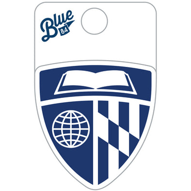 Blue 84 Shield Sticker