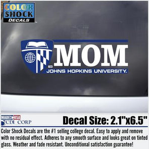 CDI Johns Hopkins ''Mom'' Decal