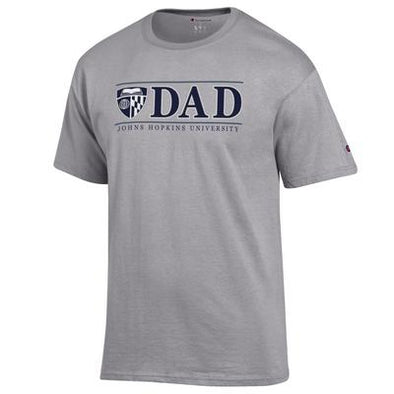 Champion® Johns Hopkins ''Dad'' Short Sleeve Tee