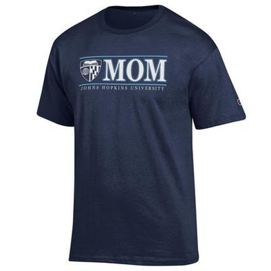 Champion® Johns Hopkins ''Mom'' Short Sleeve Tee