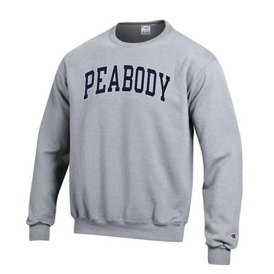 Champion® ''Peabody'' Fleece Crewneck Sweatshirt Oxford Grey