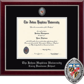 Church Hill ''Masterpiece'' Diploma Frame Carey Business School