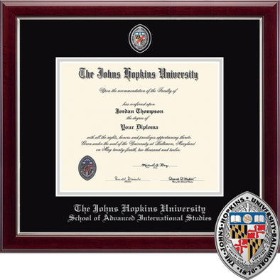 Church Hill ''Masterpiece'' Diploma Frame SAIS