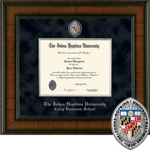 Church Hill ''Presidential'' Diploma Frame Carey Business School