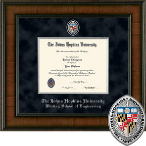 Church Hill ''Presidential'' Diploma Frame School of Engineering