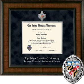 Church Hill ''Presidential'' Diploma Frame School of Arts and Sciences