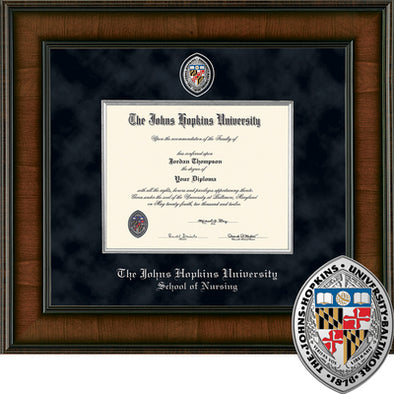 Church Hill ''Presidential'' Diploma Frame School of Nursing
