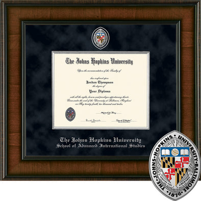 Church Hill ''Presidential'' Diploma Frame SAIS