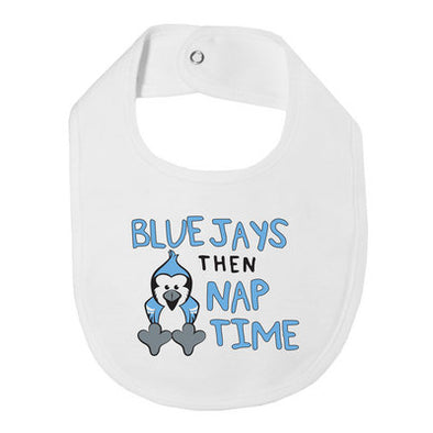 Garb ''Blue Jays, Then Nap Time'' Bib