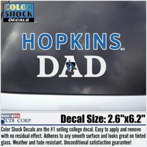 CDI Hopkins ''Dad'' Decal