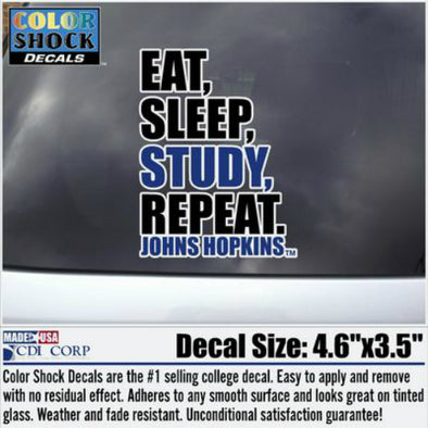 CDI ''Eat, Sleep, Study, Repeat'' Decal
