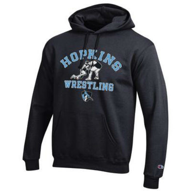 Champion® Hopkins Wrestling Fleece Hoodie