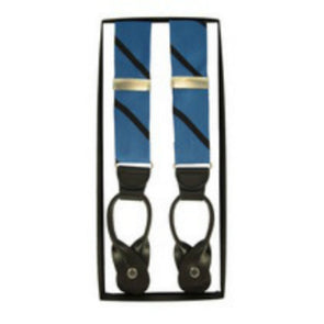 Johns Hopkins Woven Stripe Suspenders