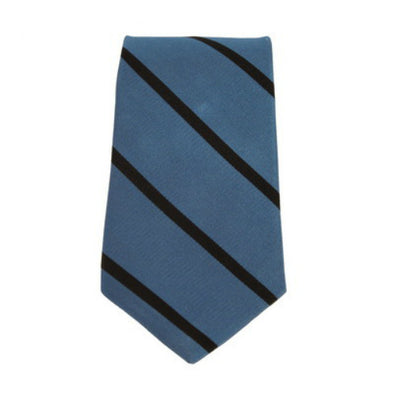 Johns Hopkins Woven Silk Stripe Tie