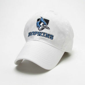 Legacy Youth Shielded Blue Jay Hat White