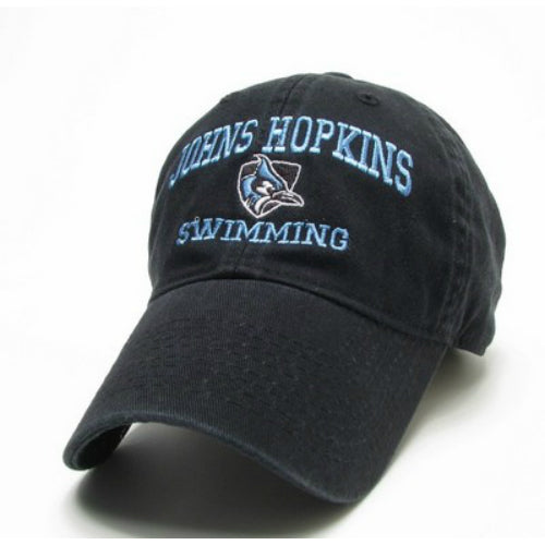 Johns Hopkins Shielded Blue Jay Swimming Hat