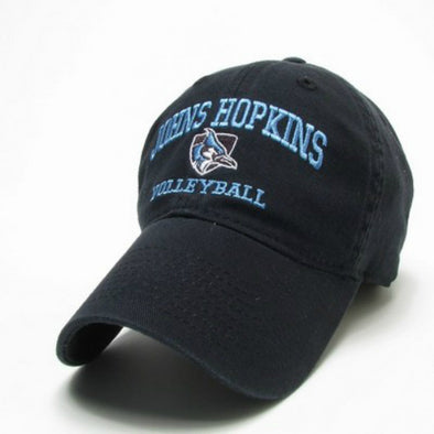 Johns Hopkins Shielded Blue Jay Volleyball Hat