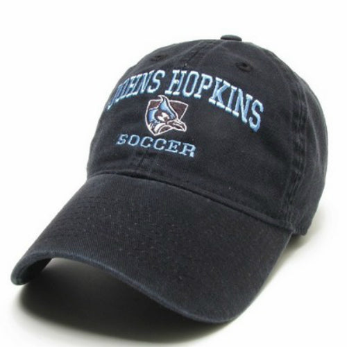 Johns Hopkins Shielded Blue Jay Soccer Hat