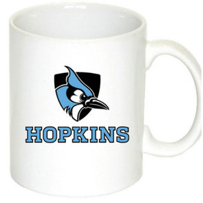 Nordic Shielded Blue Jay Mug White