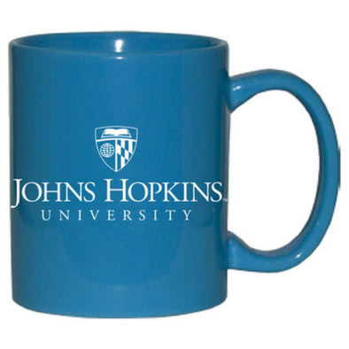 Nordic Johns Hopkins Official Logo Mug Light Blue
